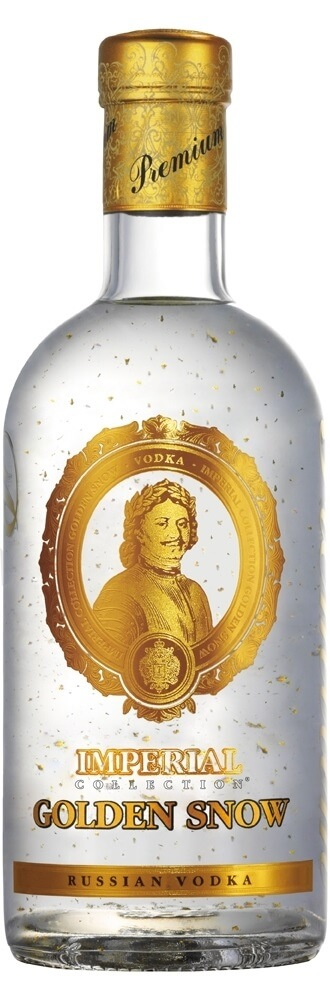 Golden Snow Vodka