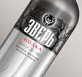 Zver Vodka Close Up