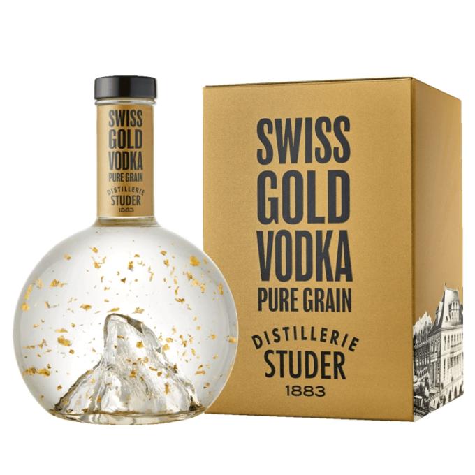 Studer Swiss Gold Vodka - New
