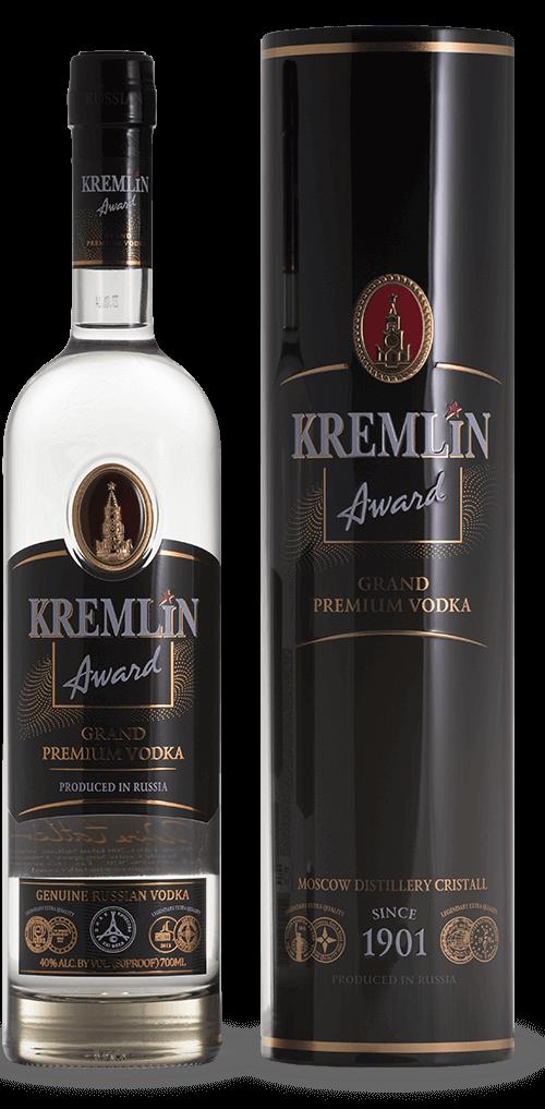 Kremlin Award Vodka Metalæske