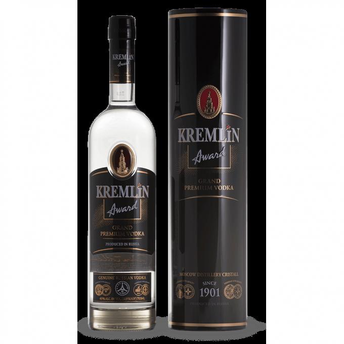 Kremlin Award Vodka tin