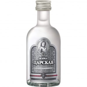 Czars Original Miniature Vodka