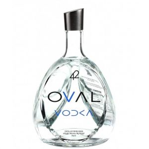 Oval Vodka 42 Structured Vodka