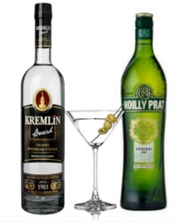 Kremlin & Noilly Prat Martini Pakke