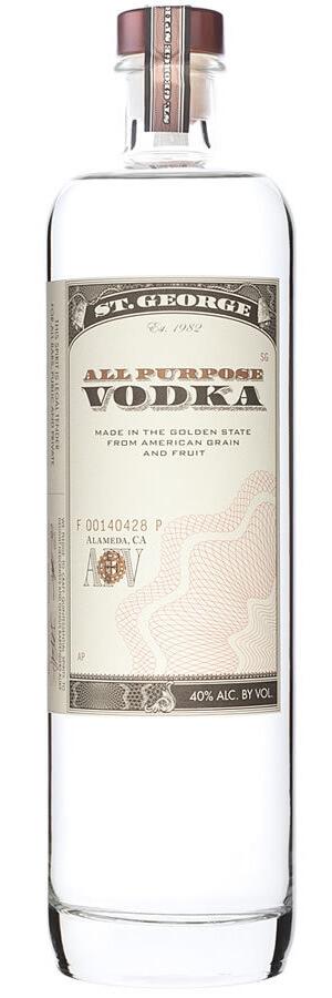 St George All Purpose Vodka ,075