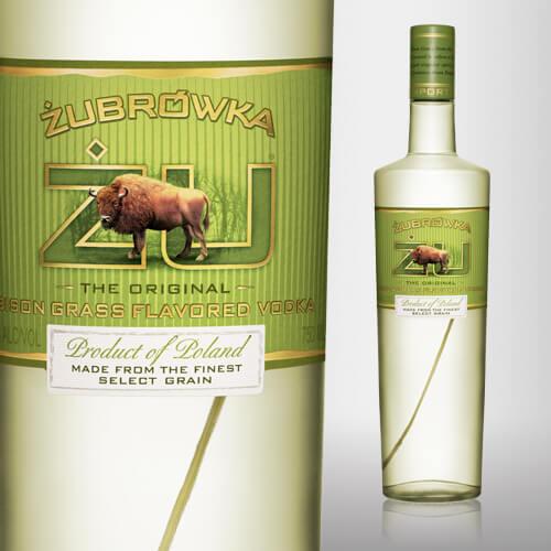 Zubrowka Vodka Bisongræs