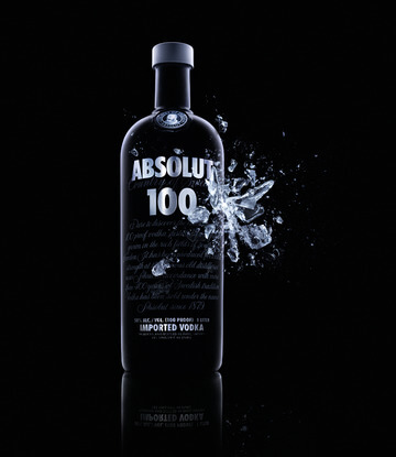 Absolut 100 Black