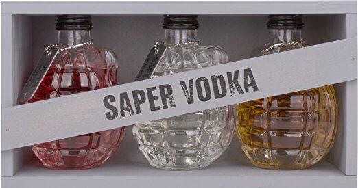 Saper Vodka Granater
