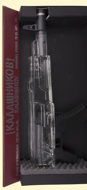 Kalashnikov AK 47 Vodka. 0,7