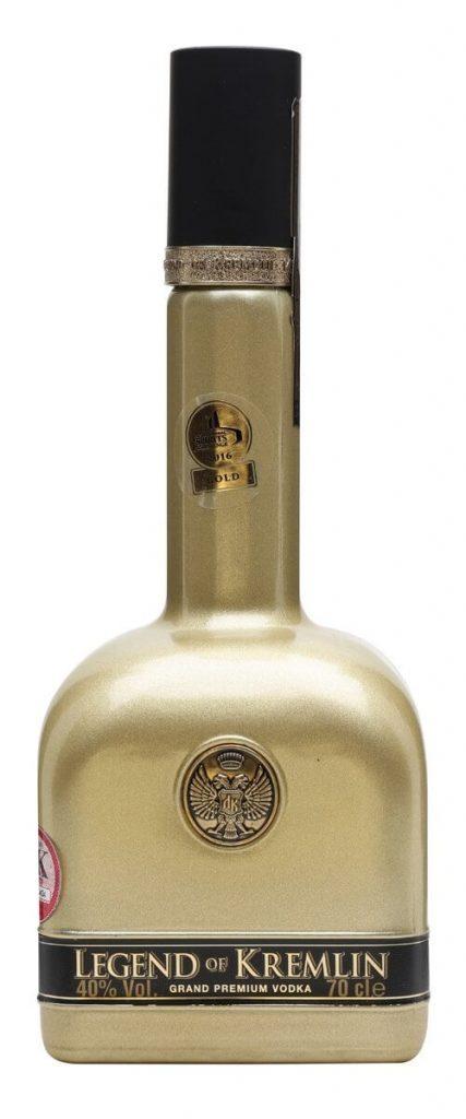 Legend of Kremlin Gold Vodka 0,7 L