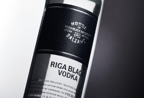 Riga Black Vodka 0,5 Liter