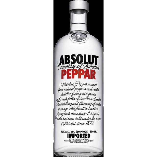 Absolut Peppar Vodka 0,5
