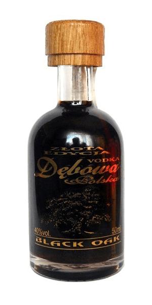 Debowa Black Oak Miniature Vodka 5cl