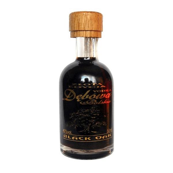 Debowa Black Oak Miniature Vodka