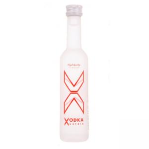 X Vodka Miniature