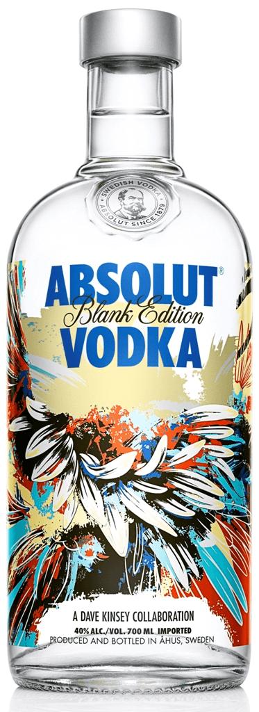 Absolut Dave Kinsey Vodka