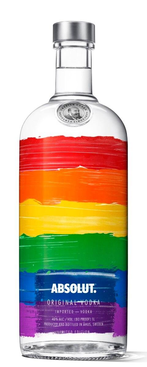 Absolut Rainbow Edition Vodka