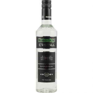 Moskovskaya Cristall Vodka 0,5 Liter Superior