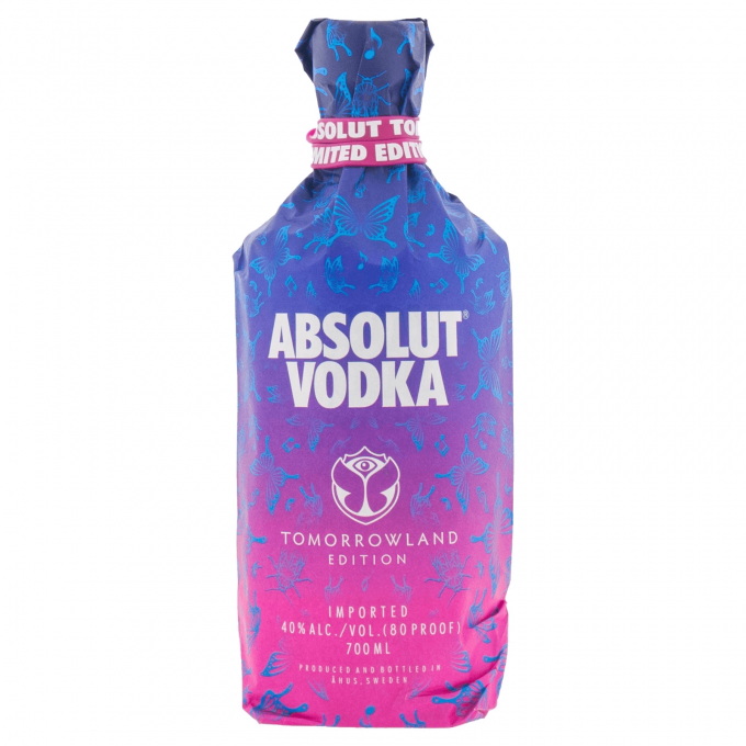 Absolut Tomorrowland Edition Vodka