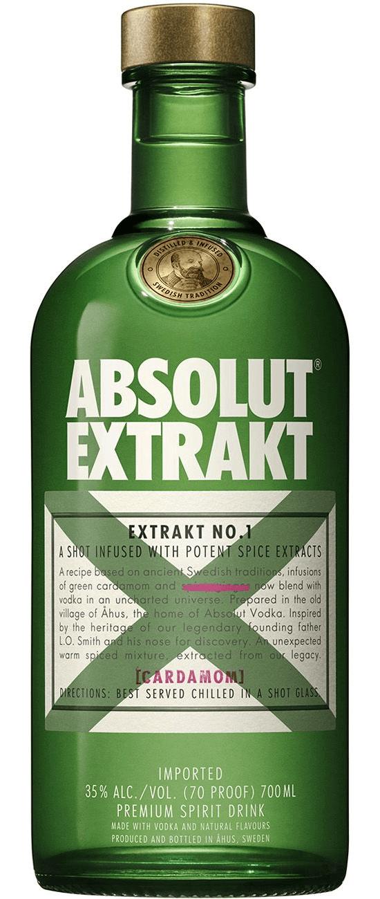 Absolut Extrakt Vodka No1