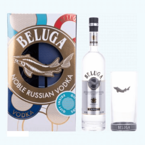 Beluga Vodka Gaveæske med glas