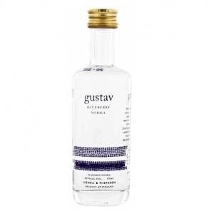 Gustav Blueberry Miniature Vodka