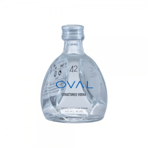 Oval 42 miniature vodka