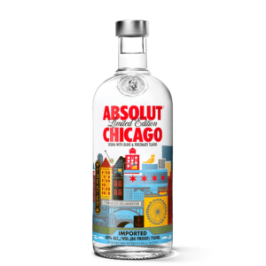 Absolut Chicago Limited Edition Vodka