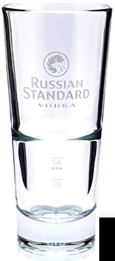 Russian Standard Vodkaglas